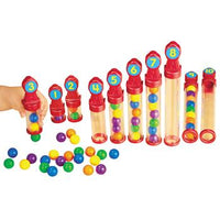 See Inside Counting Tubes, Age 3+, Set