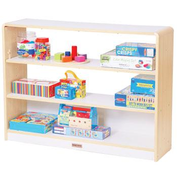 Alps Series, Shelves, Open Back 3 Shelf Unit, Each