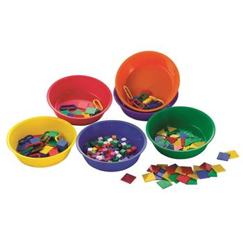 Fun Counting & Sorting, Sorting Bowls, Pack of 6