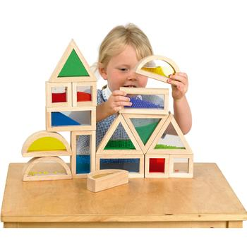 Sensory Blocks Set, Set of 16