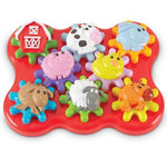 Build & Spin Barnyard Friends, Age 2 Yrs+, Set
