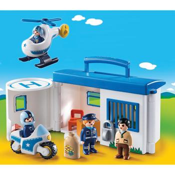 Playmobil(R) 1.2.3 Range, Police Bundle, Set