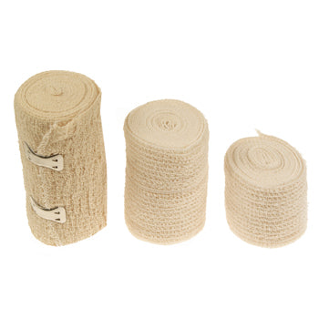 Bandages, Crepe Support and Compression, 100mm wide, Each