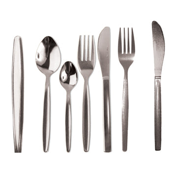 Cutlery, Stainless Steel Economy Range, Spoon, Tea, 135mm, Pack of 12