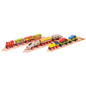 Transport Trains, Age 3+, Set