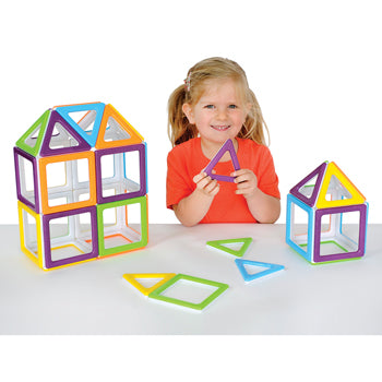 Megamag Polydron, Age 3+, Set of 36 Pieces
