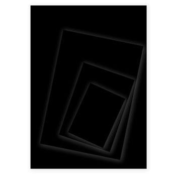 Black Card, A4, 350 Micron, Pack of 100 Sheets