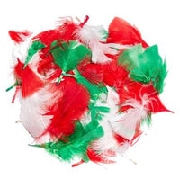 Festive Feathers, Pack of 50g