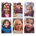 Emotion Tray Puzzles, Age 3+, Set of 6