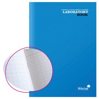 A4 Laboratory Books, Blue, Pack of 10