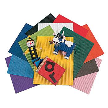 Corobuff(R), 304 x 406mm, Bright Assorted, Pack of 12 Sheets