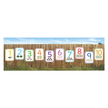 Outdoor Learning, Photo Sets, Individual Numbers 1-10, 297 x 210mm (A4), Set of 10