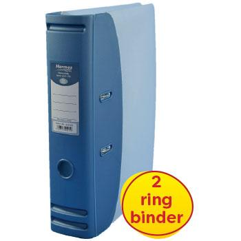 A4, Lever Arch File, Metallic Blue, Each