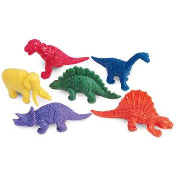 Counter Sets, Dinosaurs, Ages 3+, Set of 108