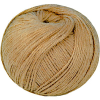String, Brown Jute, 3 Ply Ball, 250g