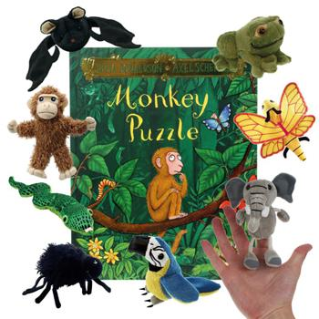 Story Packs, Monkey Puzzle, Age 3+, Set
