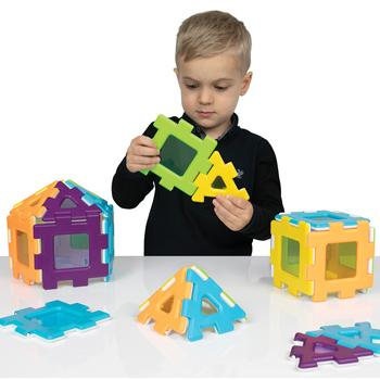 My First Polydron, Windows Set, Age 2+, Set of 24 pieces