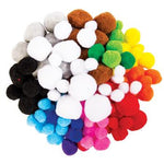 Pom Poms, Small Pack, Pack of 100