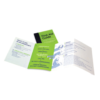 First Aid Guidence Leaflet, Each