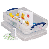 Really Useful Boxes, 4 litre, 395 x 255 x 88mm, Each