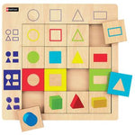 Logic Puzzles, Geometric Shapes, Each