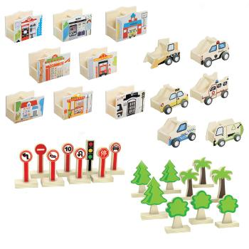 City Blocks, Accessories, Age 3+, Set