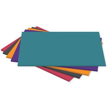 230 Micron Card, Assorted Deep Colours, 230 Micron, Pack of 100 Sheets
