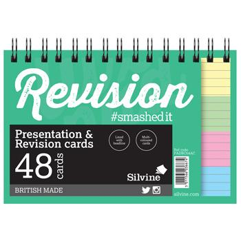 Revision & Presentation Cards, Wirebound, Pack of 10