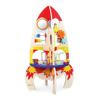 Tabletop Coordination Sets, Multi Activity Rocket Table, Age 18 Months+, Each