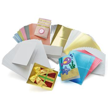 Card & Envelope Packs, Selection Pack, Class Pack of 100