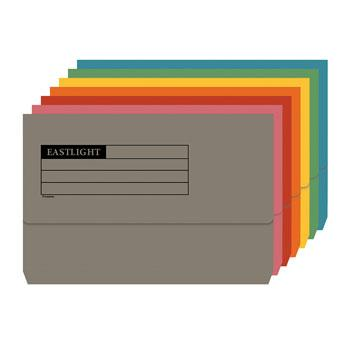 Document Wallets, Foolscap, 250gsm, Box of 50