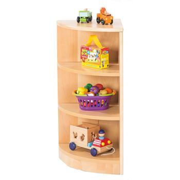 3 Shelf Corner Unit, Each