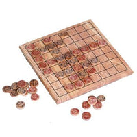 Wooden Draughts Set