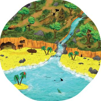 Role Play, Play Mats, Treasure Island, Age 0+, Each