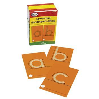 Alphabet, Lower Case Sandpaper Letters, Set of 28