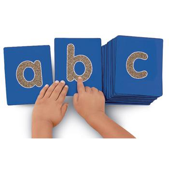 Tactile Letters, Lower Case, Set of 26