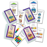 Smart Chute, Memory Skills Chute Cards, Pack of 4 Sets