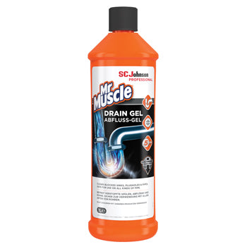 Mr Muscle(R) Drain Gel, Diversey, 1 litre