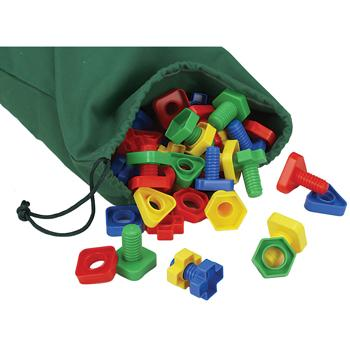 Nuts And Bolts, Set of 96 Pieces