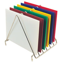 Chopping Boards, Colour Coded Plastic, 300 x 230 x 12mm, Each