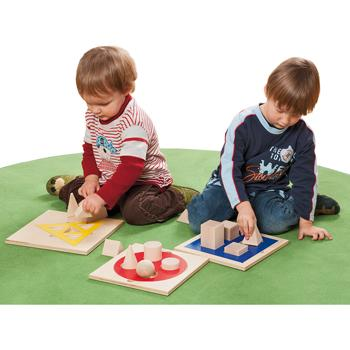 Shapes, 2D & 3D Matching, Age 3+, Set