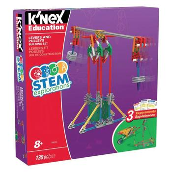 K'nex Stem Explorations, Levers & Pulleys, Age 8+, Set of 139 Pieces