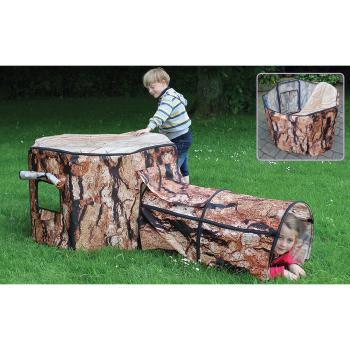 Indoor & Outdoor Play Range, Natural Tree House & Tunnel, Den Cover Only, Age 0+, Each