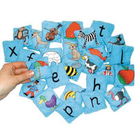 Alphabet, Initial Sounds Picture Bean Bags, Set of 26