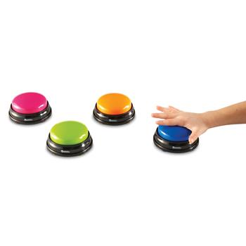 Answer Buzzers, Age 3+, Set of 4