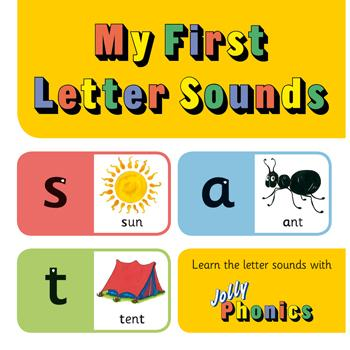 Jolly Phonics, My First Letter Sounds, Each