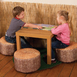Tree Stump Bean Stools, Small, Pack of 3