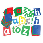 Stencils, Alphabet, Lowercase, Pack of 27