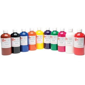 Paint, Craft, Introductory Pack, Pack of 10 x 500ml