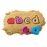 Sand Moulds Sets, Alphabet Lower Case, Age 3+, Set of 26
